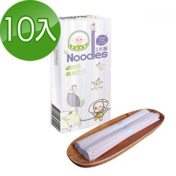 幸福米寶 幸福米麵紫心甜薯味10入(240g/包)|米麵/燕麥麵
