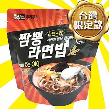 DooriDoori-海鮮風味泡麵泡飯*3+泡菜風味石鍋拌飯*3|日韓泡麵