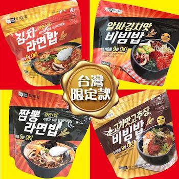 Door iDoori-獨家包裝拌飯.泡麵飯7入口味任選(海鮮.牛肉.泡菜.起司)|日韓泡麵
