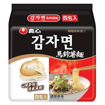 農心 馬鈴薯麵(100gX4包/8組) |日韓泡麵