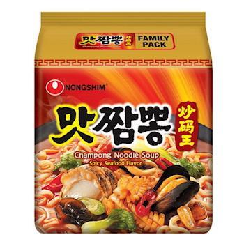 農心 炒碼麵(130g×4包/4組)|日韓泡麵