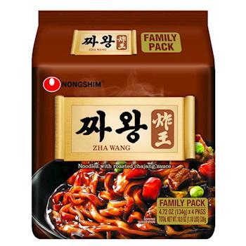 農心 炸王炸醬麵(134g×4包/4組) 日韓泡麵
