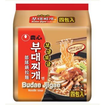 農心 部隊鍋拉麵(127gX4包/4組)|日韓泡麵