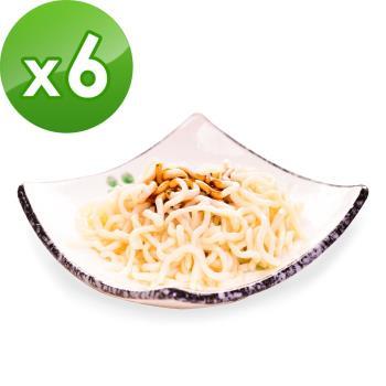 樂活e棧 低卡蒟蒻麵 燕麥拉麵+5醬任選(共6份) 蒟蒻麵