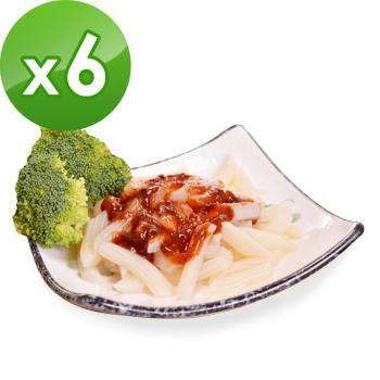 樂活e棧 低卡蒟蒻麵 義大利麵+5醬任選(共6份)|蒟蒻麵
