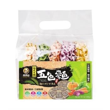 懋勝堂 五色麵400g(6包/組)|關廟麵/刀削麵