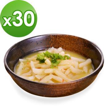 (即期品)樂活e棧 低卡蒟蒻麵 義大利麵+濃湯(共30份)|蒟蒻麵