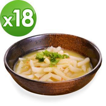 (即期品)樂活e棧 低卡蒟蒻麵 義大利麵+濃湯(共18份)|蒟蒻麵