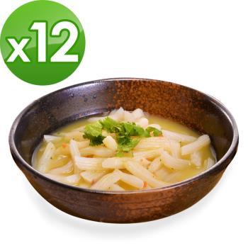 (即期品)樂活e棧 低卡蒟蒻麵 義大利麵+濃湯(共12份)|蒟蒻麵