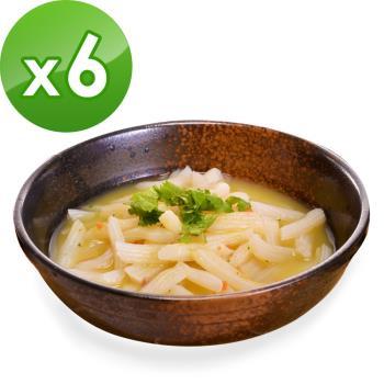 (即期品)樂活e棧 低卡蒟蒻麵 義大利麵+濃湯(共6份)|蒟蒻麵
