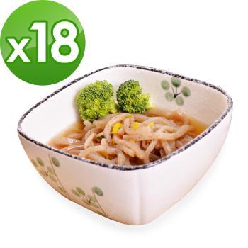 (即期品)樂活e棧 低卡蒟蒻麵 海藻烏龍+濃湯(共18份)|蒟蒻麵