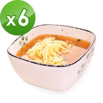 (即期品)樂活e棧 低卡蒟蒻麵 燕麥涼麵+濃湯(共6份)|蒟蒻麵