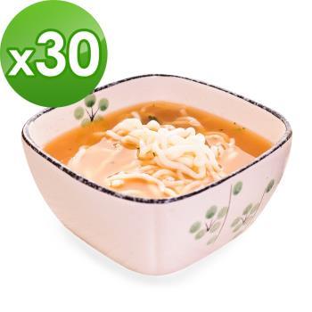 (即期品)樂活e棧 低卡蒟蒻麵 燕麥拉麵+濃湯(共30份)|蒟蒻麵