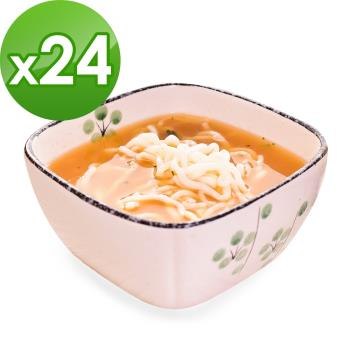 (即期品)樂活e棧 低卡蒟蒻麵 燕麥拉麵+濃湯(共24份)|蒟蒻麵