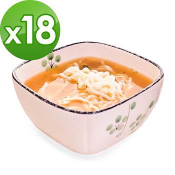 (即期品)樂活e棧 低卡蒟蒻麵 燕麥拉麵+濃湯(共18份)|蒟蒻麵
