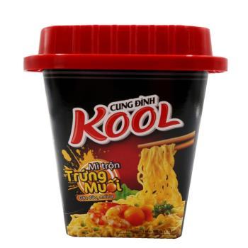 KOOL鹹蛋黃炒麵90g*6碗|台灣|南洋泡麵