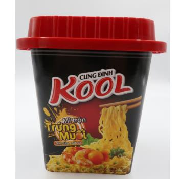 KOOL鹹蛋黃炒麵90g*12碗/箱|台灣|南洋泡麵