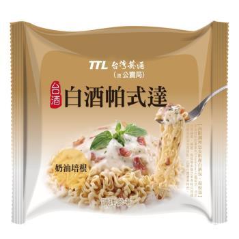 台酒TTL 白酒帕式達袋麵(12包入/箱)|台灣|南洋泡麵