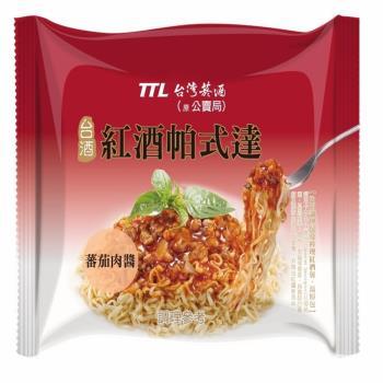 台酒TTL 紅酒帕式達袋麵(12包入/箱)|台灣|南洋泡麵