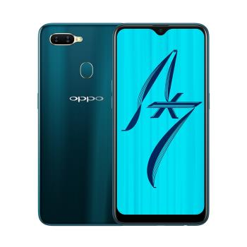 OPPO AX7 (4G/64G)6.2吋水滴螢幕大電量八核心手機-琉璃藍|OPPO A 系列