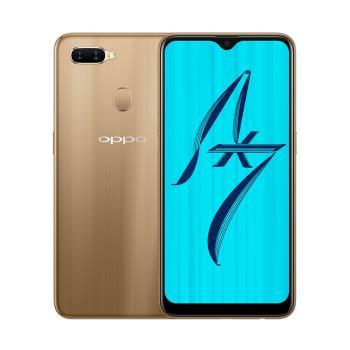 OPPO AX7 (4G/64G)6.2吋水滴螢幕大電量八核心手機-耀光金|OPPO A 系列