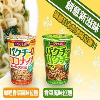 XIN香菜杯麵 咖哩香菜杯麵18杯入|台灣|南洋泡麵