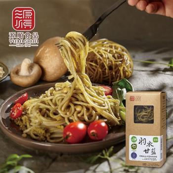[源順] 有機羽衣甘藍糙米麵條2盒(240g/盒)|米麵/燕麥麵
