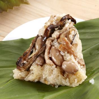 現購【阿添師】古早素香粽10顆組(85g/顆)|素粽