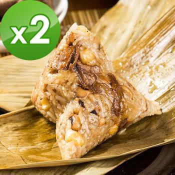 預購-樂活e棧-醬香獅子頭粽子-素食可食(6顆/包 ,共2包)(06/3~06/6 出貨)|素粽