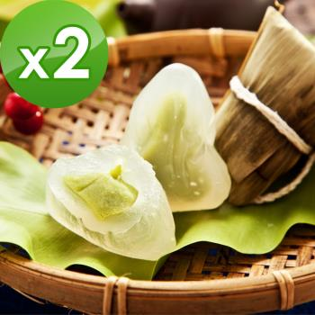 預購-樂活e棧-包心冰晶Q粽子-抹茶(6顆/包,共2包)(06/3~06/6 出貨)|冰粽/甜粽