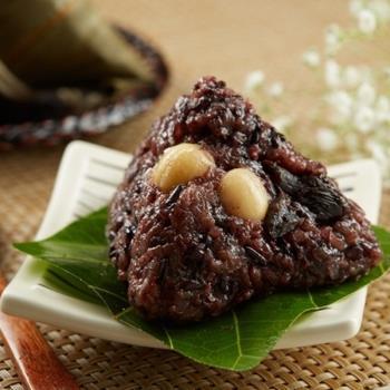 預購-[台灣好粽]紫米紅豆蓮子粽8入(附提盒)-06/3~06/6 出貨|養生粽
