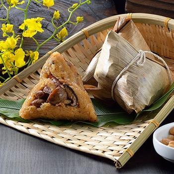 現購-[台灣好粽]傳統北部粽5入(附提盒)|北部粽