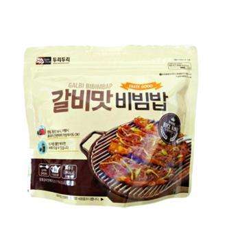 【DOORI DOORI】石鍋拌飯 - 牛小排風味  ( 116g/包 ) x5包|日韓泡麵