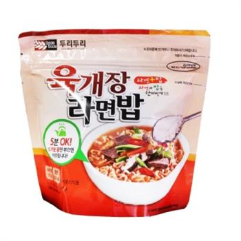 【DOORI DOORI】泡飯+泡麵 - 韓國大醬湯口味  ( 105g/包 ) x5包|日韓泡麵