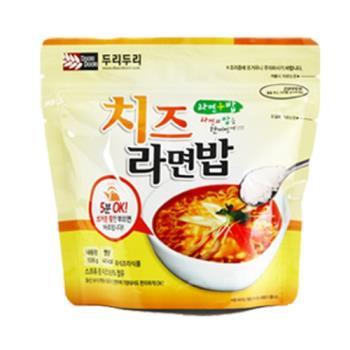 【DOORI DOORI】泡飯+泡麵 - 起士口味  ( 106g/包 )  x5包|日韓泡麵