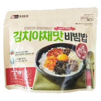 【DOORI DOORI】石鍋拌飯 - 韓式泡菜  ( 118g/包 ) x5包|日韓泡麵