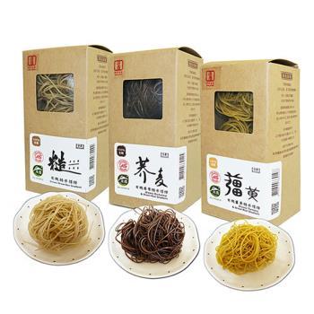 源順 養生有機米糆條(薑黃糙米糆條+糙米糆條+蕎麥糆條各2盒(3入/盒),共18粒入)|米麵/燕麥麵
