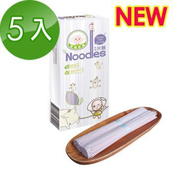 幸福米寶 幸福米麵紫心甜薯味五入(240g/包)|米麵/燕麥麵