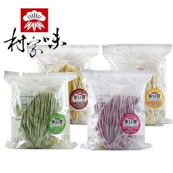 村家味 綜合米豆簽方便麵12包(4片/包)|其他麵條