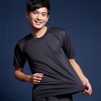 【藍伯特男士精品內褲】涼適感短袖衫(3件組)