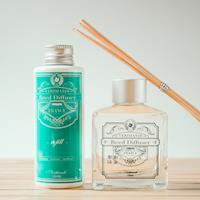 VERTHANDI 室內芳香水竹精油 擴香竹1+1補充瓶(薰衣草)