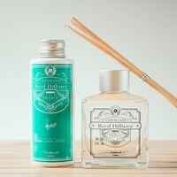 VERTHANDI 室內芳香水竹精油 擴香竹1+1補充瓶(檀香)