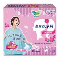 蕾妮亞 淨妍護墊/浪漫玫瑰微香40片x2包x2組