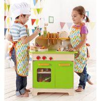 【德國HAPE愛傑卡】廚房系列大型廚具台(綠)
