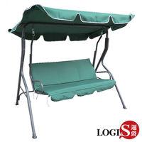 【LOGIS】  伯列雙人鞦韆搖椅/休閒椅/吊椅 HC-128