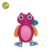 【瑞士OOPS烏噗司】寶寶強壯玩具(固齒器-貓咪)