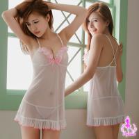 【Ayoka】視覺享受柔紗二件式睡衣