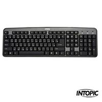 INTOPIC 廣鼎-標準鍵盤 KBD-USB-16