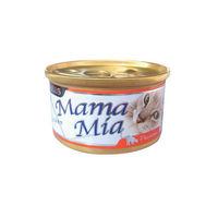 【SEEDS】聖萊西 MAMAMIA貓餐罐-鮮嫩純雞肉 85G x 24入