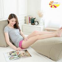 【凱蕾絲帝】台灣製造-得體多功能加大舒壓美腿枕/抬腿枕/靠墊-茉綠秋香(2入)